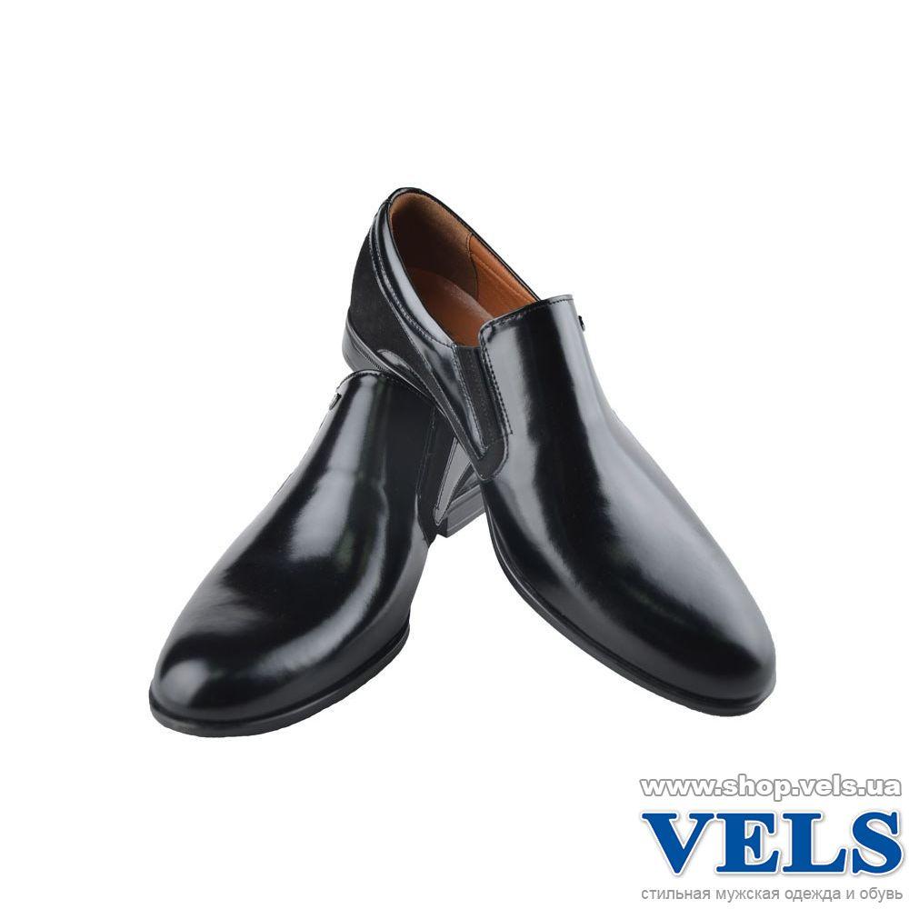 Чоловічі шкіряні туфлі Vels У 5497 без шнурків 2689ac442d253