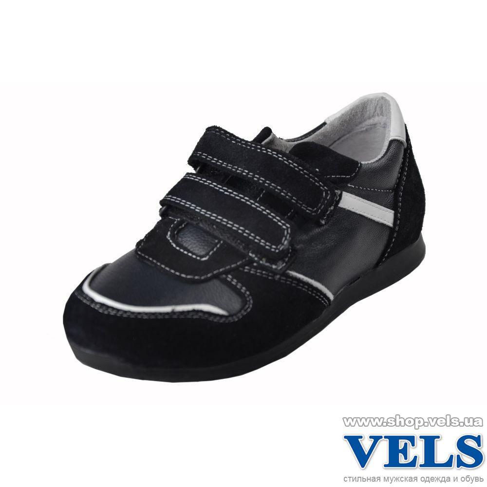 Кросівки дитячі для хлопчика Vels 79127 223 48 чорні на липучці (на  замовлення ... 2b96cee663e15